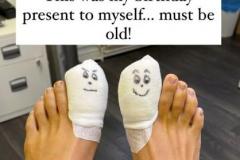 Post-surgery-bandages